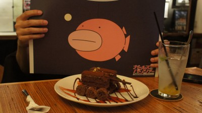 Tank Cake @ Ufotable Cafe (Girls und Panzer)