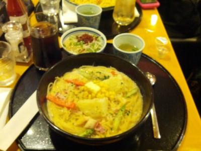 Potato chowder-style pasta (Hokkaido-style) @ Totally forgot what this was from, Ikebukuro (near a Bic Camera)