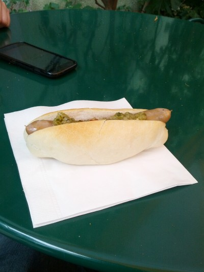 Hot Dog from Ghibli Museum