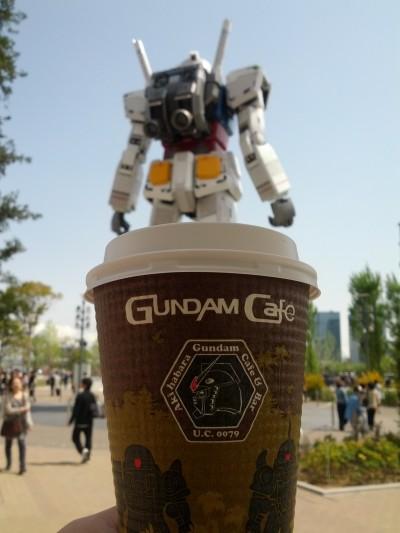 Gundam Cafe's drip coffee, Diver City
