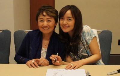 Keiko and Megumi