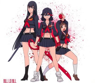 Satsuki, Ryuuko, Mako